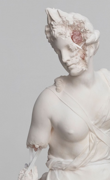 Paris, 3020: Daniel Arsham Recasts Sculptural Masterpieces as Future Relics