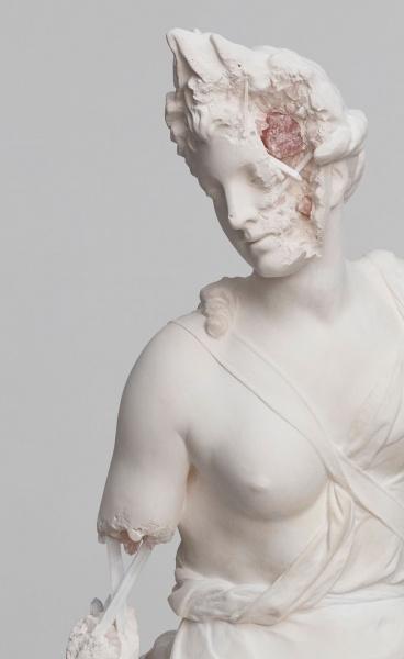 Paris, 3020: Daniel Arsham Recasts Sculptural Masterpieces as Future Relics