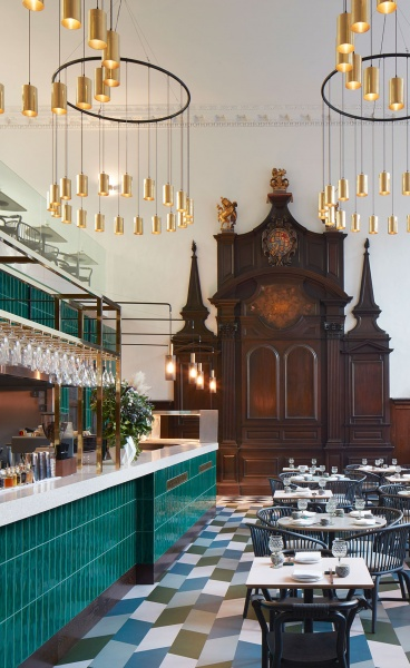 Duddell's Injects Cantonese Flavor into St Thomas Church in London Bridge