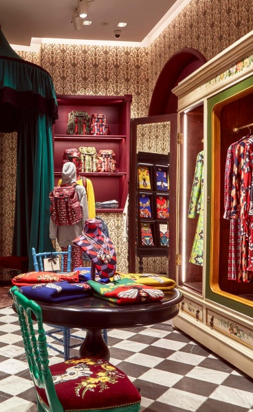 The Maximalist Menagerie of Alessandro Michele's Immersive Gucci Garden in Florence