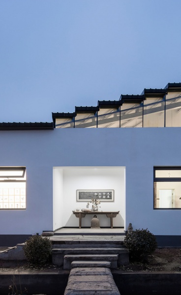 An Art Studio of Juxtapositions by Office PROJECT in Suburban Beijing