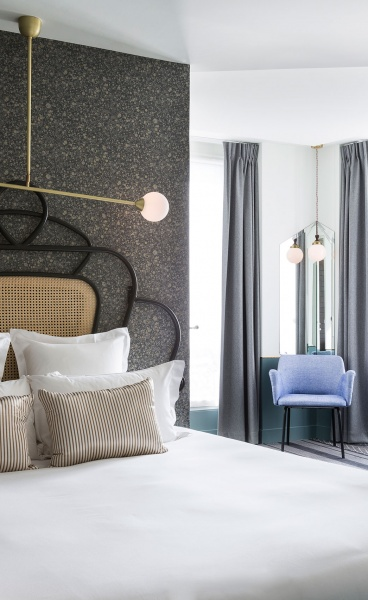 The Nouveau Retro Touches of the Panache Hotel in Paris