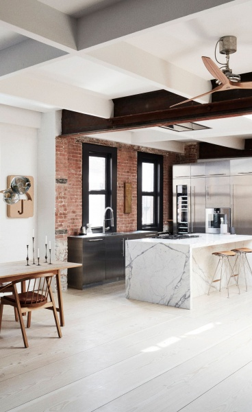 Søren Rose Studio Showcases Scandinavian Modernism in NYC Loft