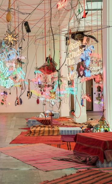 Jason Rhoades' Brilliant Installations at Hauser & Wirth Los Angeles