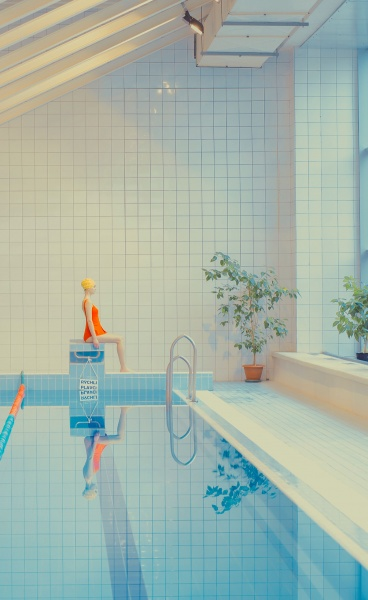"The Calm Waters of Photographer, Maria Svarbova's ""In the Swimming Pool"" Series"