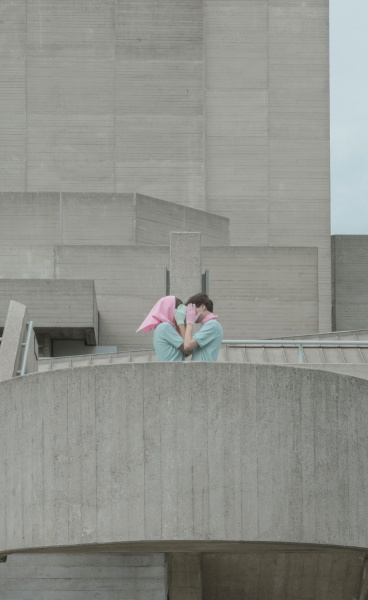 Brutalist Love: 'Raw Hill' Series by Photographer Marietta Varga