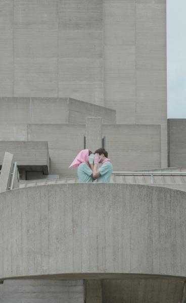 Brutalist Love: 'Raw Hill' Series by Photographer Marietta Varga