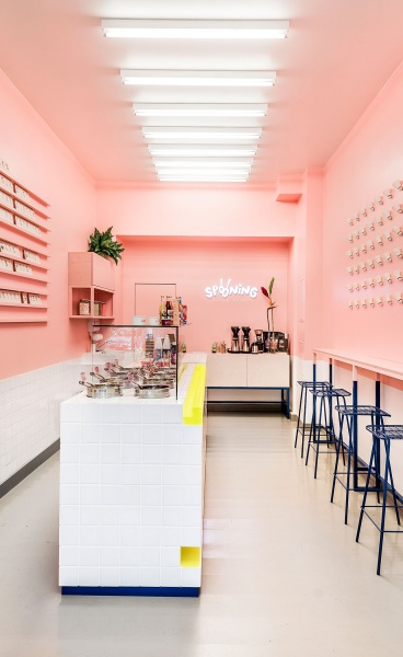 Sweet Childhood Memories Inspire SPOONING Cookie Dough Bar in Berlin