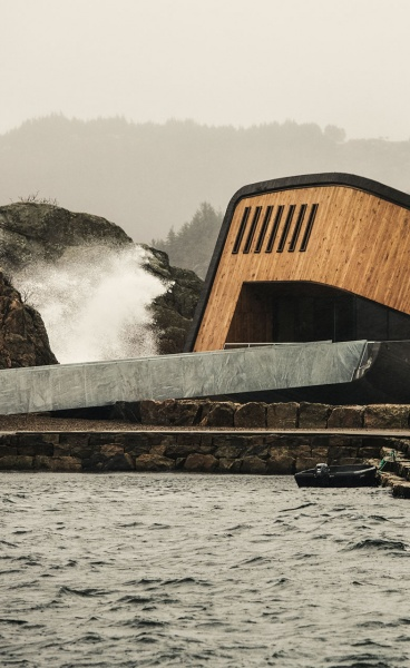 """Under"" the North Sea: Snøhetta Reinvents the Underwater Restaurant"