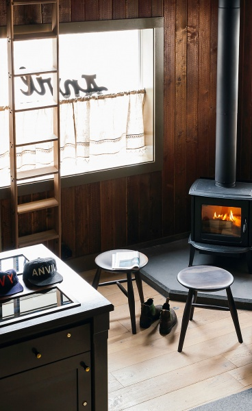 Upscale Western Lodgings at Anvil Hotel by Studio Tack in Jackson, Wyoming