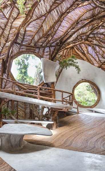 The Metaphysical Physicality of IK LAB Gallery in Tulum, Mexico