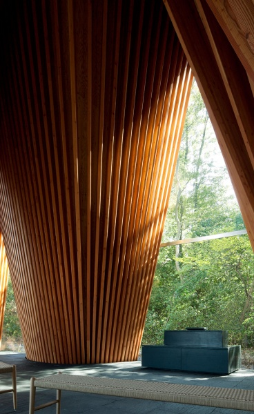 Architecture Prays Too: Sayama Forest Chapel by Hiroshi Nakamura & NAP