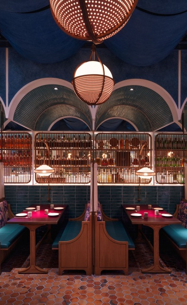 British Tea Hall Meets Chinese Canteen in 'John Anthony' Restaurant in Hong Kong