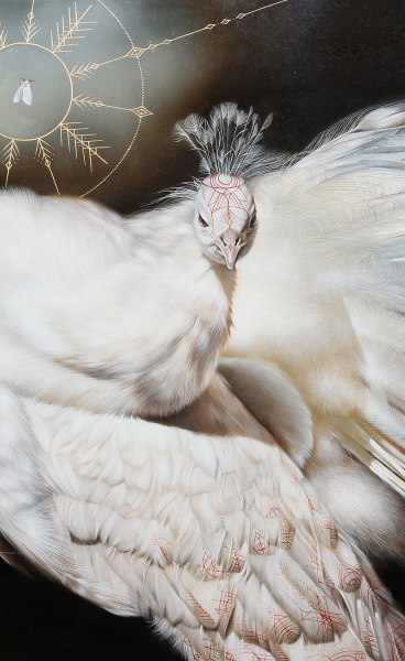 The Mystical Iconography of Josie Morway's Hyperrealistic Paintings
