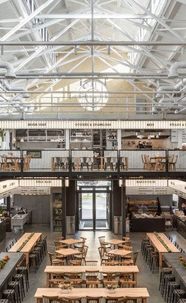 Balbek Bureau Converts an 18th Century Arsenal into a Bustling Food Market in Kyiv