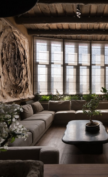 Imperfection is Beautiful: the Wabi Sabi Apartment by Sergey Makhno in Kiev, Ukraine