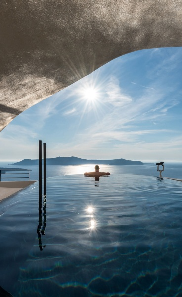 A Slice of Heaven: Interior Design Laboratorium Renovates Porto Fira Suites on Santorini
