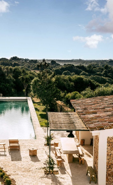 Es Bec d'Aguila: A Rural Retreat in Menorca Revels in Cosmopolitan Elegance